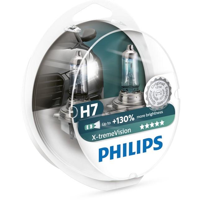 2 ampoules philips h7 x tremevision 60 55 w 12 v. Black Bedroom Furniture Sets. Home Design Ideas