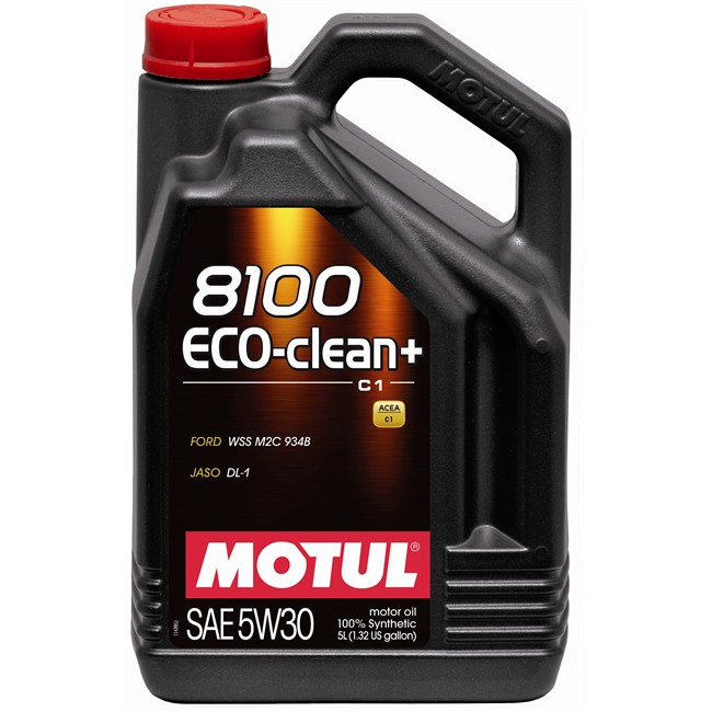 huile moteur motul 8100 eco clean 5w30 essence et diesel 5 l. Black Bedroom Furniture Sets. Home Design Ideas