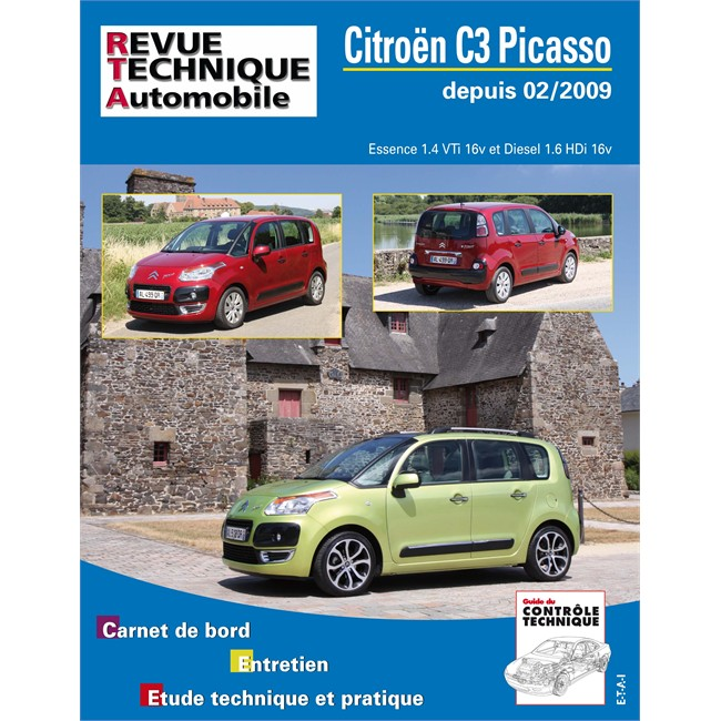 revue technique etai citroen c3 picasso essence diesel. Black Bedroom Furniture Sets. Home Design Ideas