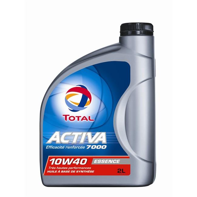 Huile Moteur Total Activa 7000 Essence 10w40 2 L