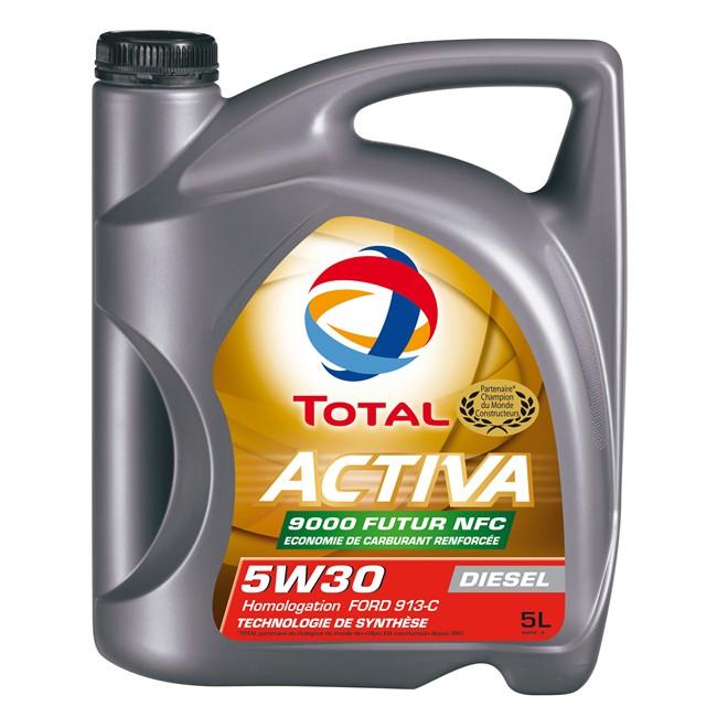 Huile Moteur Total Activa 9000 Future Nfc 5w30 Diesel 5 L