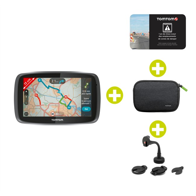 gps tomtom go 50 europe 23 pays accessoires. Black Bedroom Furniture Sets. Home Design Ideas