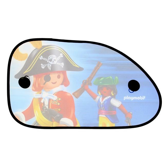 2 Rideaux Pare-soleil À Ventouses Playmobil 65 X 38 Cm