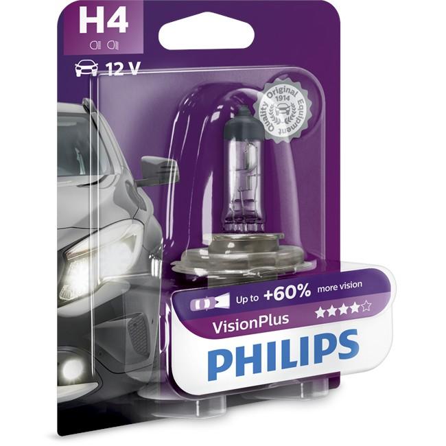 Ampoule h4 philips vision plus