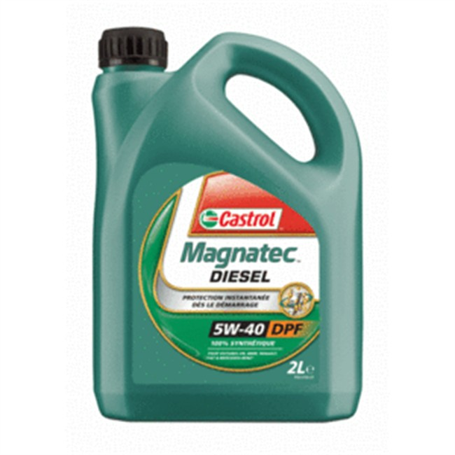 huile moteur castrol magnatec dpf 5w40 diesel 2 l. Black Bedroom Furniture Sets. Home Design Ideas