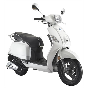 scooter 50 cm3 ride classic blanc. Black Bedroom Furniture Sets. Home Design Ideas
