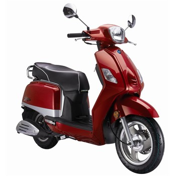 scooter 50 cm3 ride classic rouge. Black Bedroom Furniture Sets. Home Design Ideas