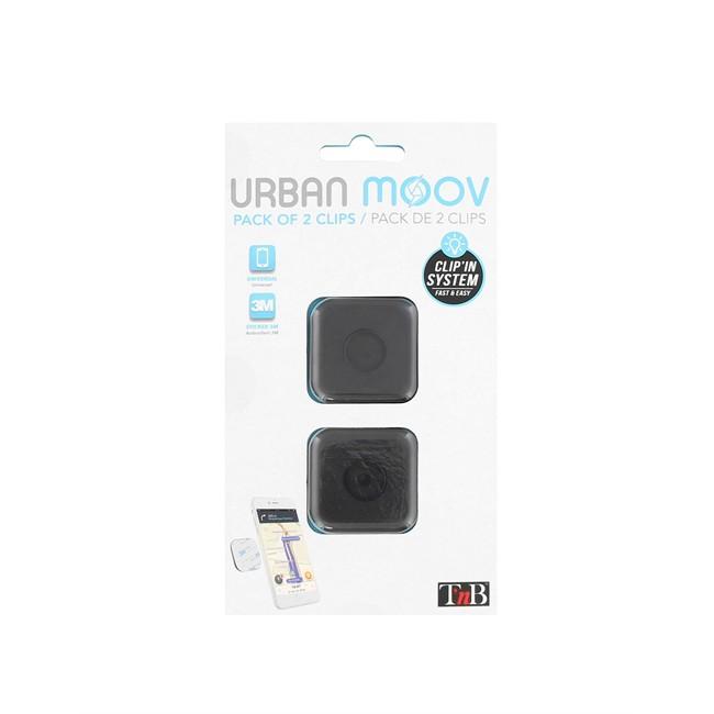 Kit De 2 Pads Pour Fixation Clip'in Urban Moov