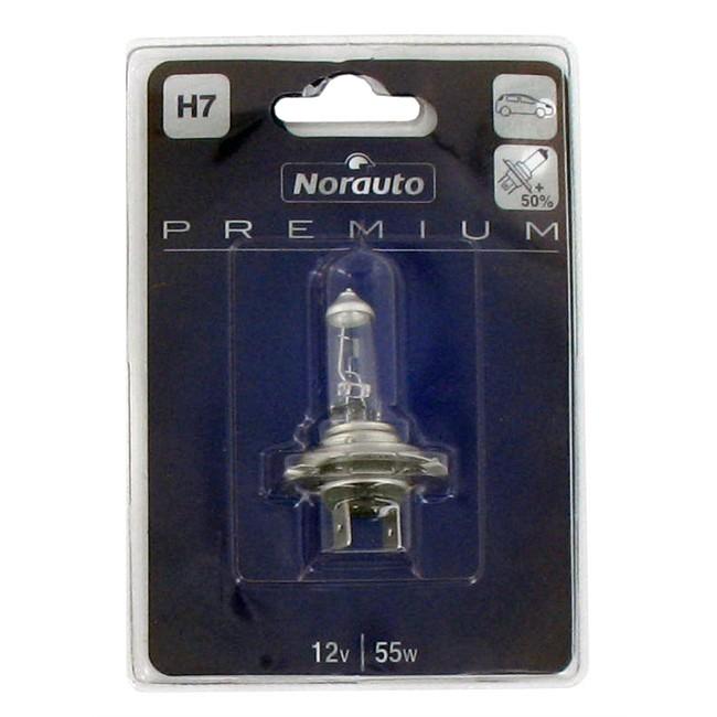 1 ampoule norauto premium h7 55w 12v. Black Bedroom Furniture Sets. Home Design Ideas