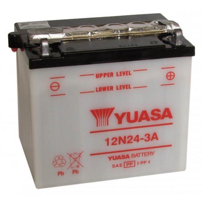 Batterie Moto Yuasa 12n24-3a