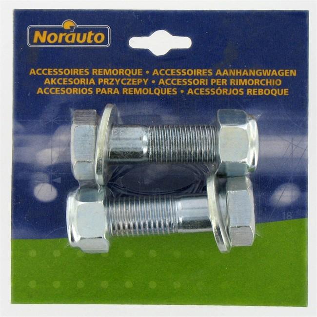 Kit De 2 Vis Norauto Pour Remorque 16 X 60 Mm