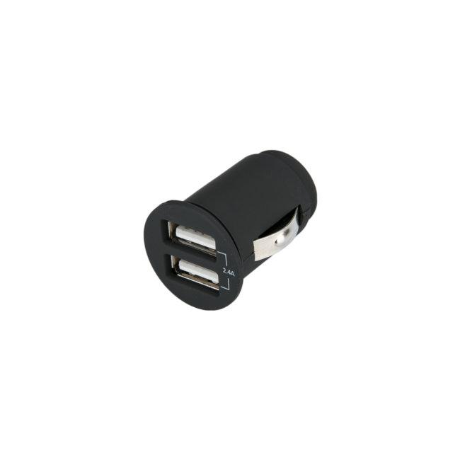 Mini Chargeur Allume-cigare 2 Usb 12v/24v 2,4a Norauto