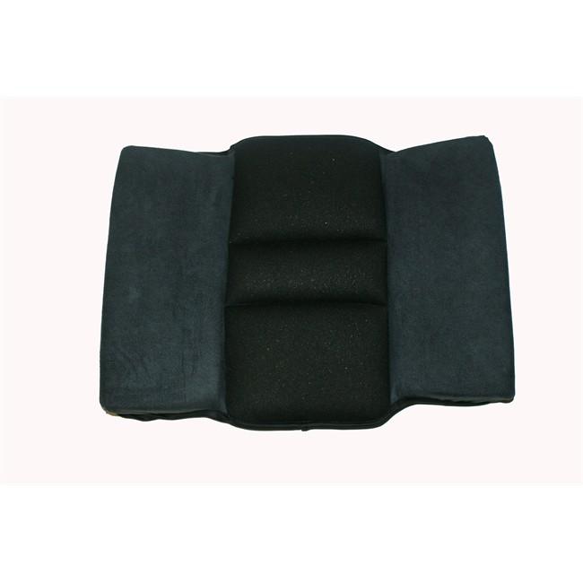 cale dos ergonomique cosy road noir. Black Bedroom Furniture Sets. Home Design Ideas