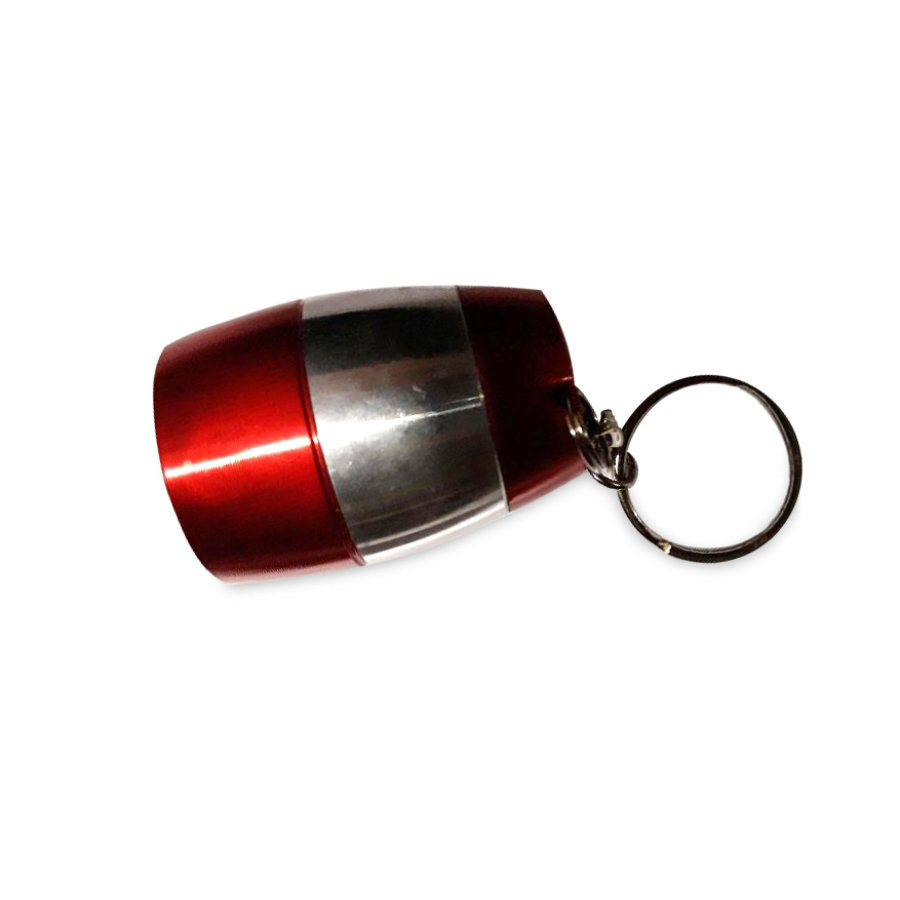 Porte-clé lampe LED rouge