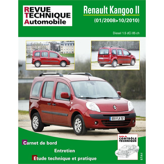 revue technique etai renault kangoo 2. Black Bedroom Furniture Sets. Home Design Ideas