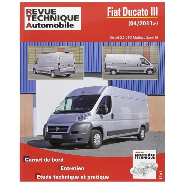 revue technique etai fiat ducato iii diesel 2 3 jtd multijet. Black Bedroom Furniture Sets. Home Design Ideas