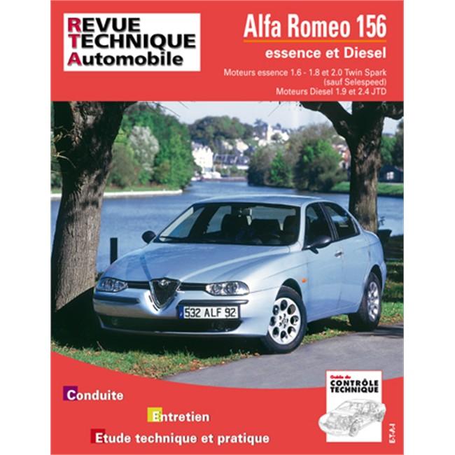 revue technique etai alfa romeo 156 essence et diesel. Black Bedroom Furniture Sets. Home Design Ideas