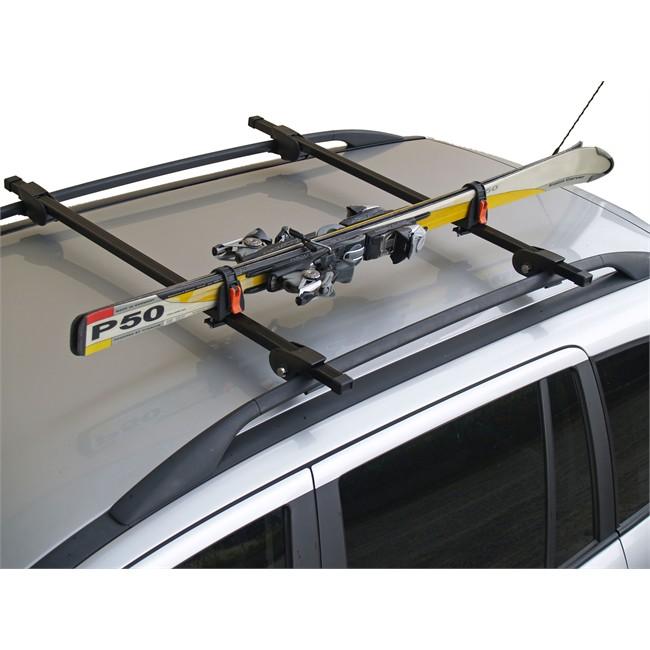 Porte Skis Sur Barres De Toit Menabo Ski Rack 423618 Pour