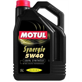 huile moteur motul synergie 5w40 diesel 5 l. Black Bedroom Furniture Sets. Home Design Ideas