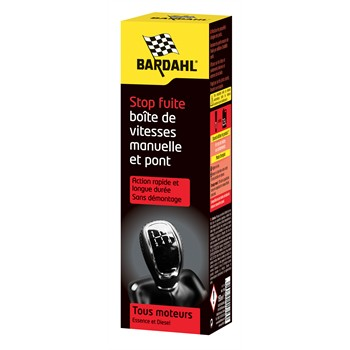 stop fuite bo te de vitesse manuelle bardahl 150 ml. Black Bedroom Furniture Sets. Home Design Ideas
