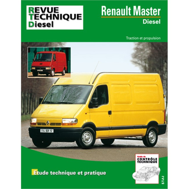 revue technique etai pour renault master phase 2 diesel. Black Bedroom Furniture Sets. Home Design Ideas