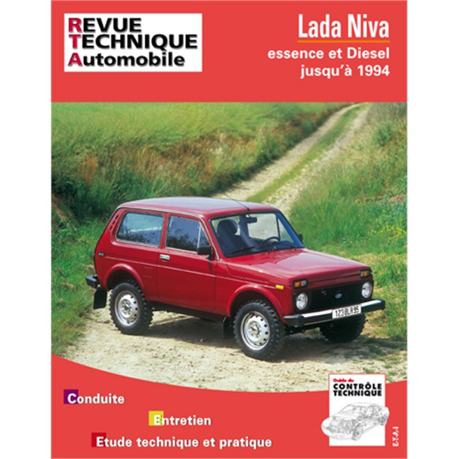 revue technique etai pour lada niva 4x4 essence et diesel jusque 1994. Black Bedroom Furniture Sets. Home Design Ideas