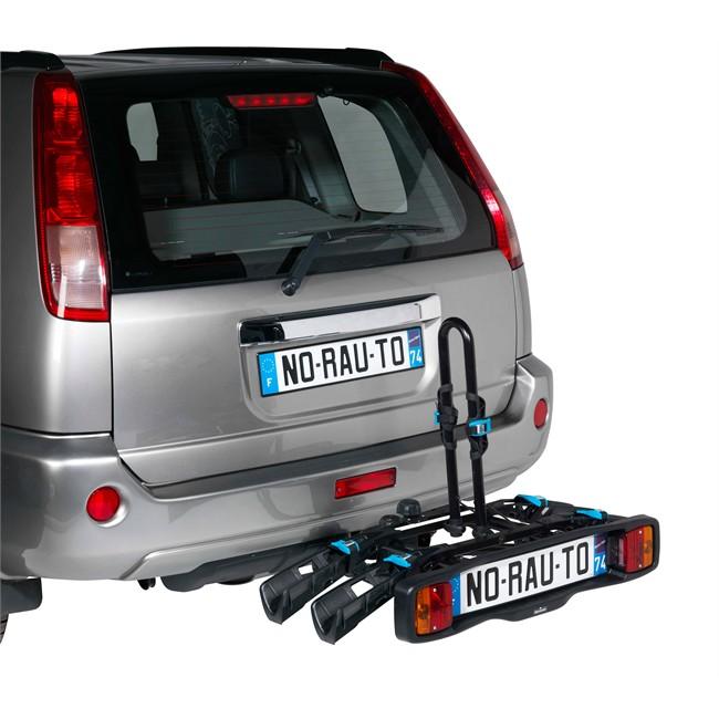 Porte-vélos D'attelage Plate-forme Norauto Rapidbike 2p Pour 2 Vélos