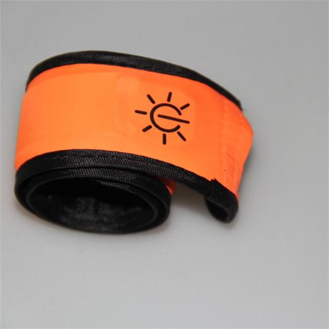 Brassard Led Lumineux Illumim8 Wantalis Orange