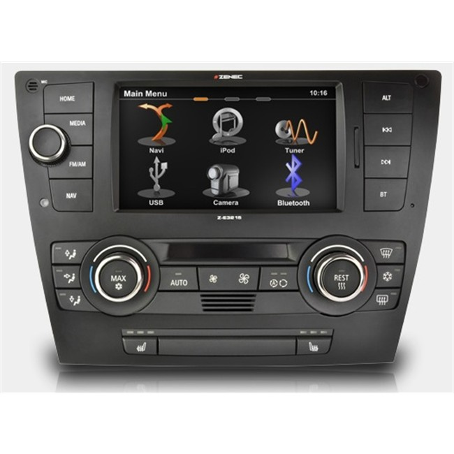 autoradio gps zenec z e3215 pour bmw. Black Bedroom Furniture Sets. Home Design Ideas