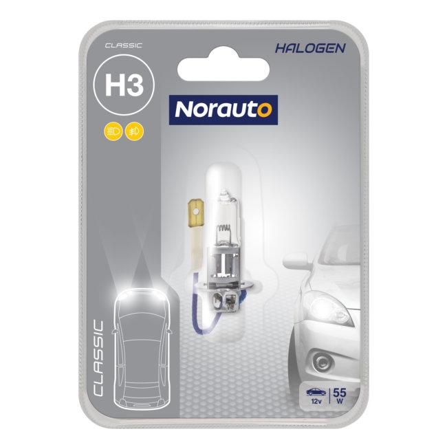 1 Ampoule H3 Norauto Classic