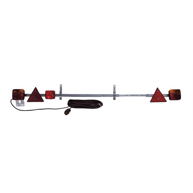 rampe de signalisation t lescopique 1 4 2 1 m avec feu. Black Bedroom Furniture Sets. Home Design Ideas