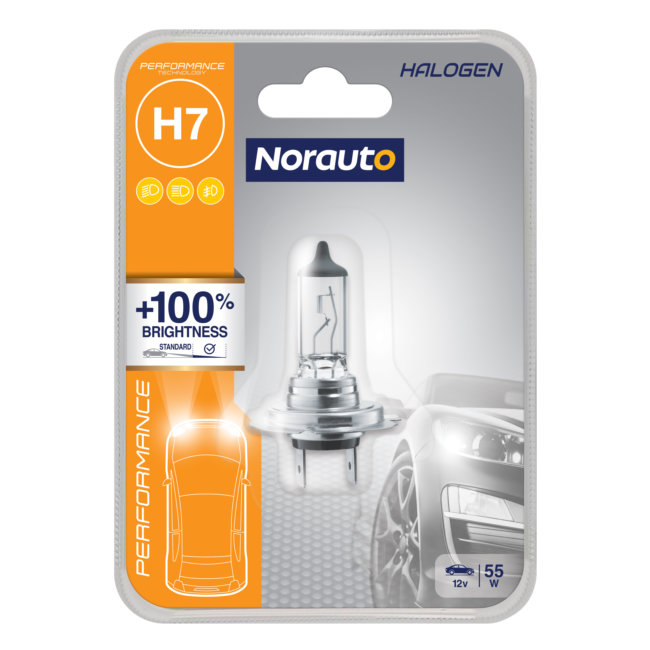 1 Ampoule H7 Norauto Performance +100%