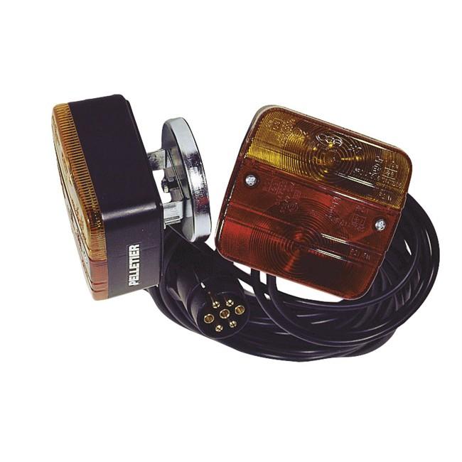kit d 39 clairage magn tique avec c ble entre feux de 2 5 m et c ble d 39 alimentation de 4 5 m. Black Bedroom Furniture Sets. Home Design Ideas