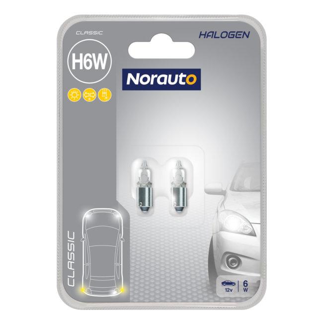 2 Ampoules H6w Norauto Classic