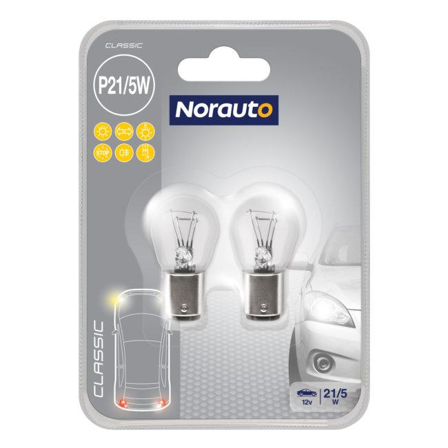 2 Ampoules P21/5w Norauto Classic