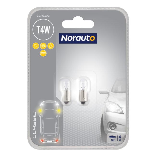 2 Ampoules T4w Norauto Classic