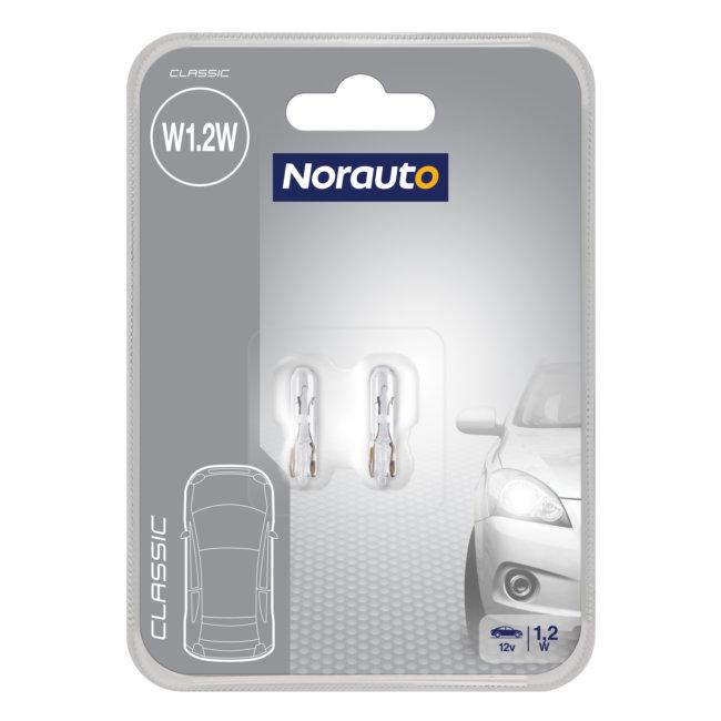 2 Ampoules W1,2w Norauto Classic