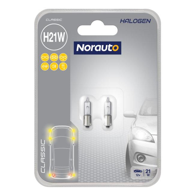 2 Ampoules H21w Norauto Classic