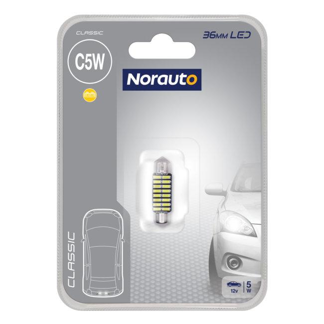 1 Ampoule Navette C5w 36mm Norauto Led