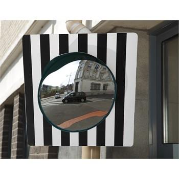 miroir sortie garage ou parking voie publique 40 cm mottez b319p60pv nora. Black Bedroom Furniture Sets. Home Design Ideas