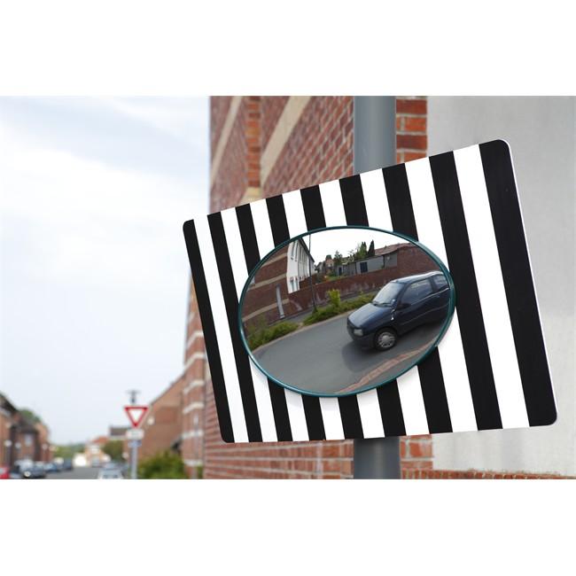 Miroir Sortie Garage Ou Parking Voie Publique 85 X 51 Cm Mottez B319povapv