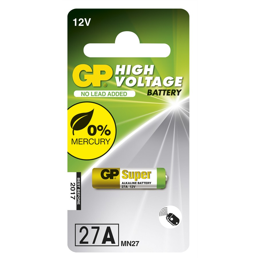 1 pile 12V GP High Voltage Super Alkaline