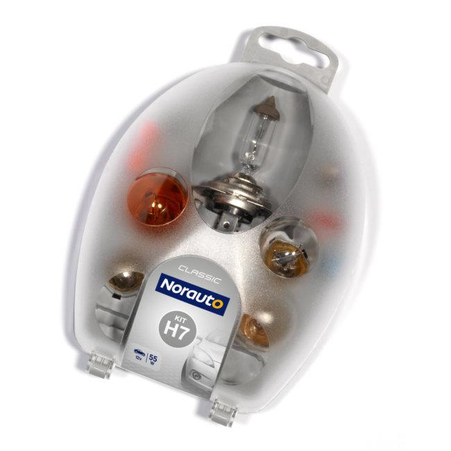 Coffret Ampoules H7 Norauto