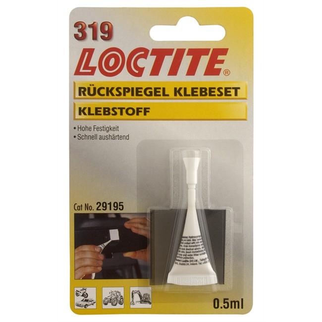 Colle pour r troviseur loctite 319 0 5 ml for Reparation retroviseur exterieur