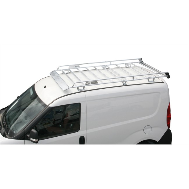 barres de toit en aluminium Fiat Doblo Maxi Cargo 2010 galerie de toit .