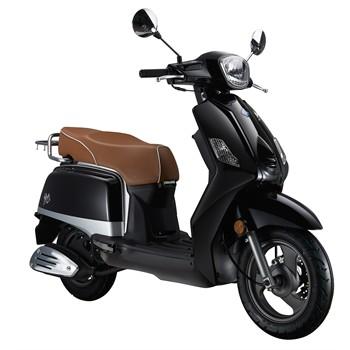 scooter 50 cm3 ride classic noir. Black Bedroom Furniture Sets. Home Design Ideas