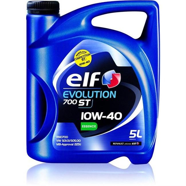 huile moteur elf evolution 700 st 10w40 essence 5 l. Black Bedroom Furniture Sets. Home Design Ideas