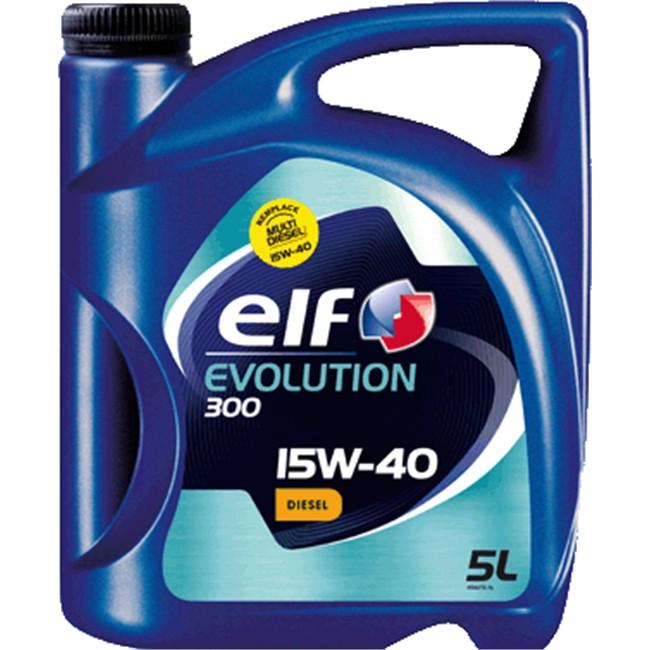 huile moteur elf evolution 300 15w40 diesel 5 l. Black Bedroom Furniture Sets. Home Design Ideas