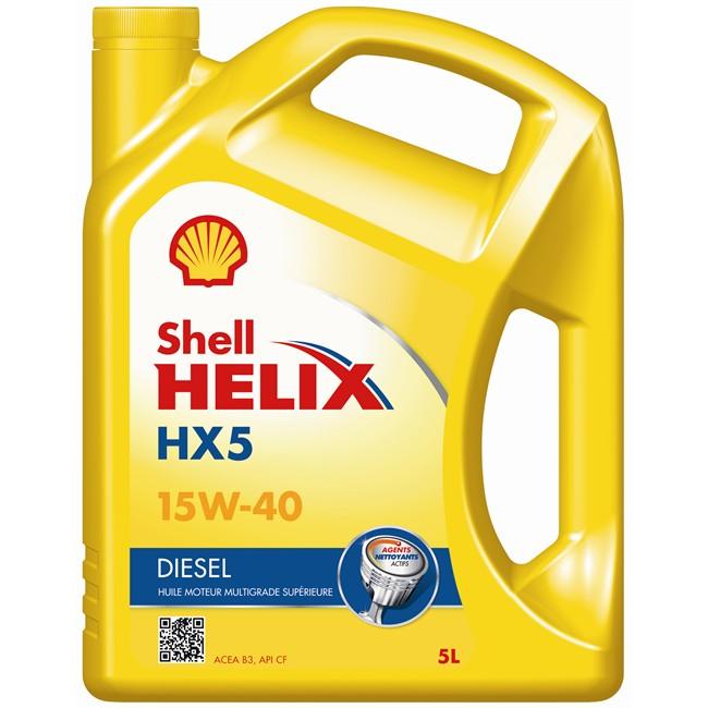 Huile Moteur Shell Helix Hx5 15w40 Diesel 5 L