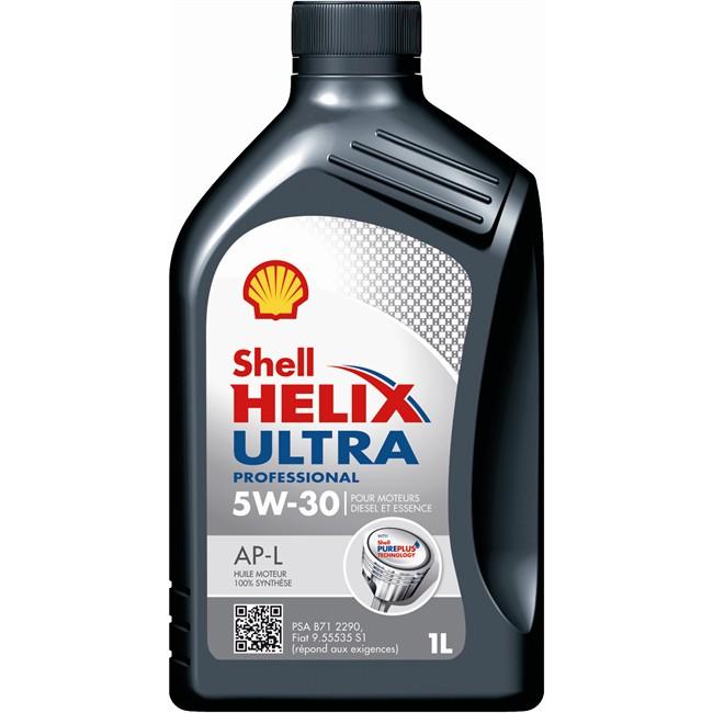 Huile Moteur Shell Helix Ultra Professional Ap-l 5w30 Essence Et Diesel 1 L